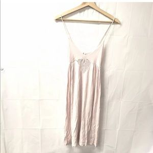 Kimchi blue small light pink boho sexy dress